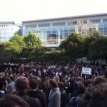 Apple's party / concert