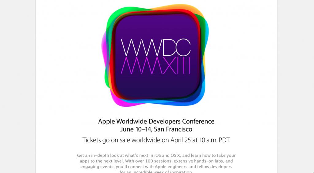 WWDC Page